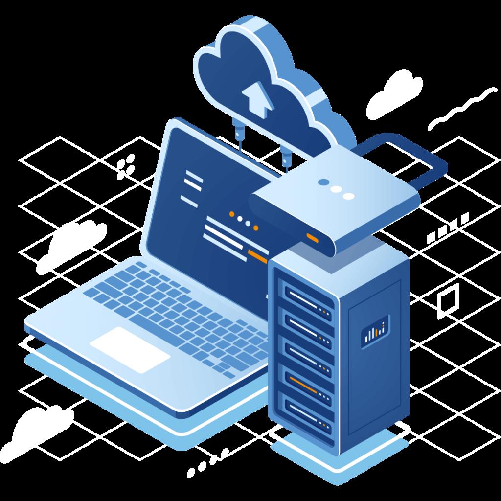 Illustrasjon av datasikkerhet